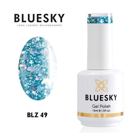 Gel Polish Bluesky 15ML BLZ № 49