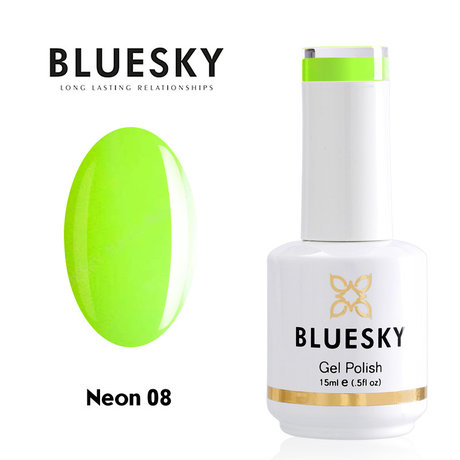 Gel Polish Bluesky 15ML Neon № 08