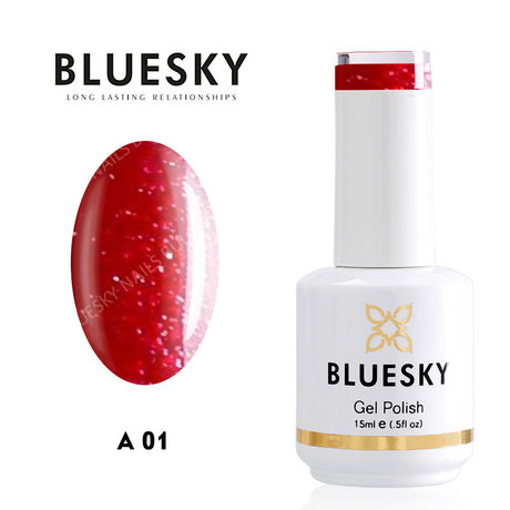 "Gel Polish Bluesky 15ML ""CLASS A"" № 001"