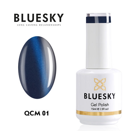 "Gel Polish Bluesky 15ML ""CAT EYE"" № 01"