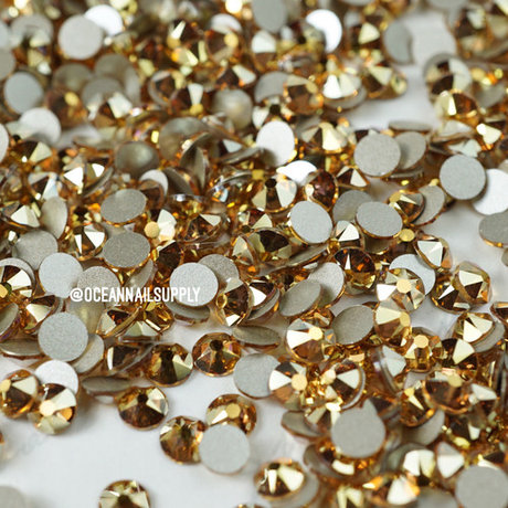 Swarovski elements Metallic Sunshine