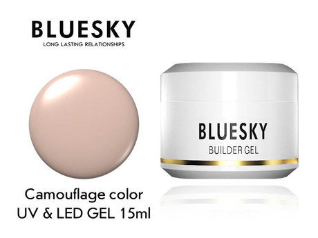 Гел Bluesky Camouflage Cover builder gel 15ml