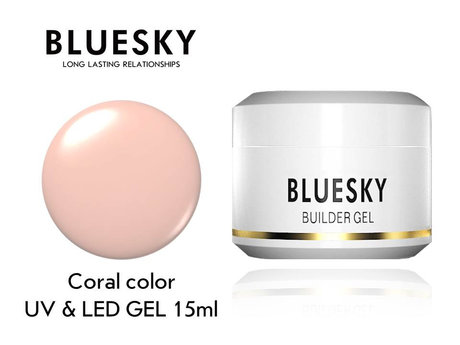 Гел за изграждане Bluesky Coral Color builder gel 15ml