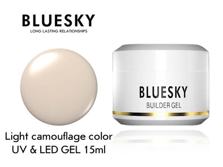 Гел за изграждане Bluesky Light Camouflage Color builder gel 15ml