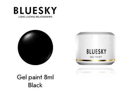 Гел боя BLUESKY UV & LED PAINT BLACK