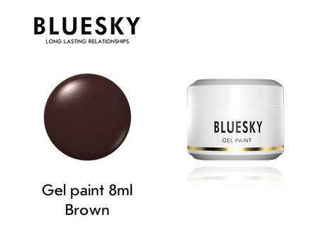 Гел боя BLUESKY UV & LED PAINT BROWN