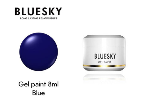 Гел боя BLUESKY UV & LED PAINT BLUE