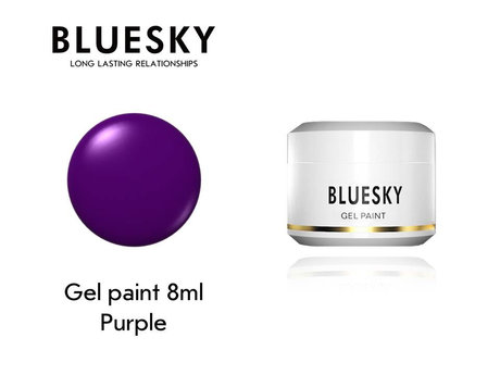 Гел боя BLUESKY UV & LED PAINT PURPLE