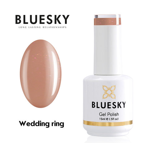 Gel Polish Bluesky 15ML WEDDING RING