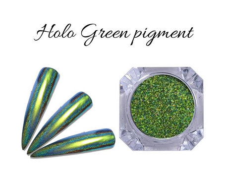 Пигмент MAGIC HOLO GREEN