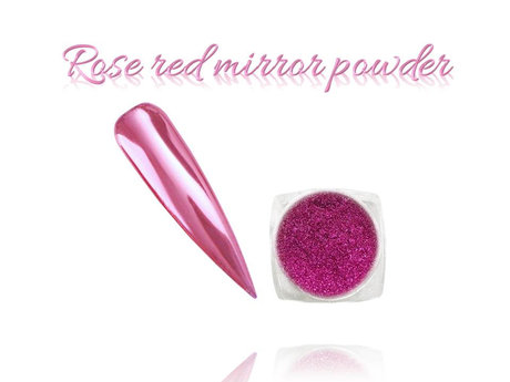 Пигмент MIRROR POWDER ROSE RED