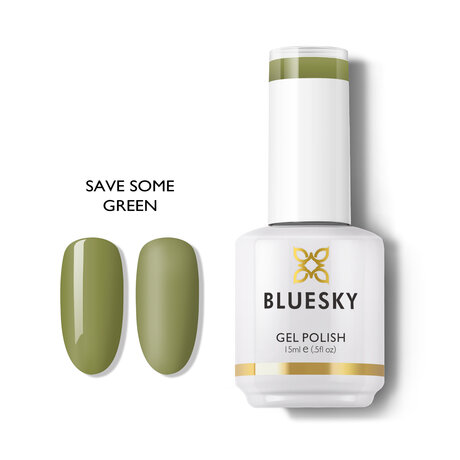 Gel Polish Bluesky 15ML SAVE SOME GREEN