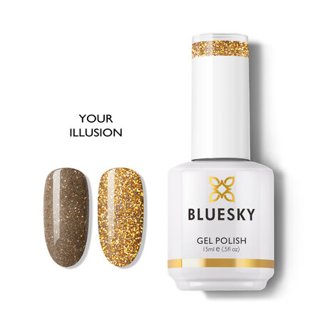 Gel Polish Bluesky 15ML YOUR ILLUSION