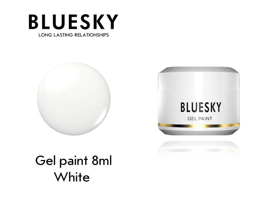 Гел боя BLUESKY UV & LED PAINT WHITE