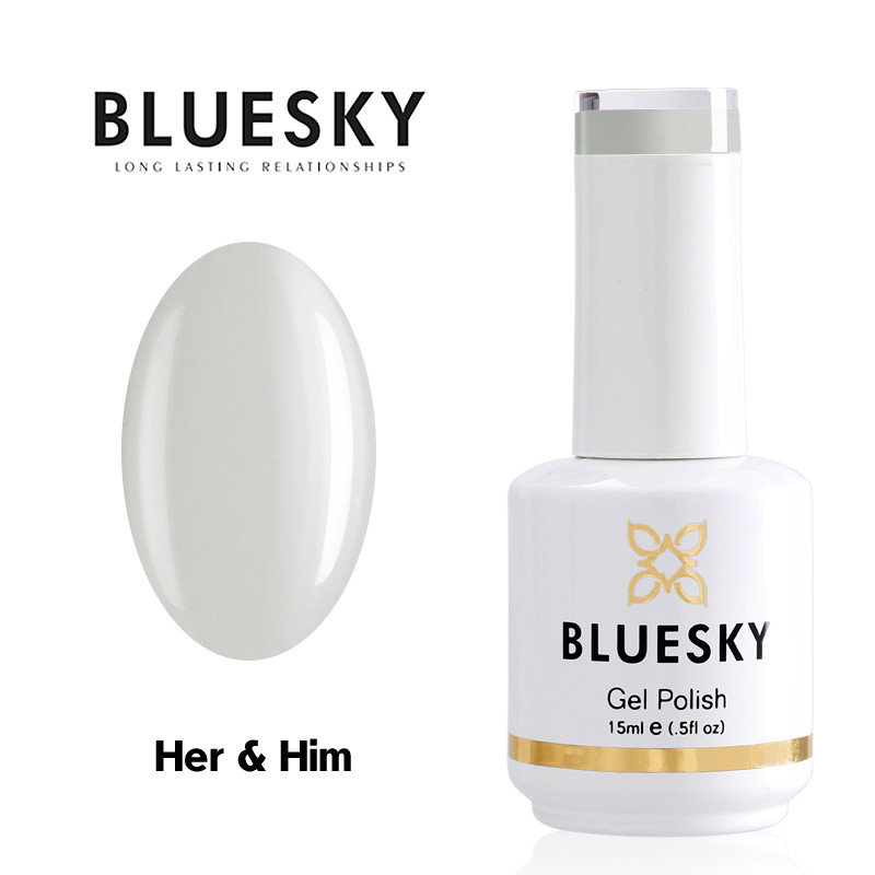 Gel Polish Bluesky 15ML HER & HIM