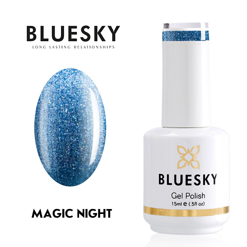 Gel Polish Bluesky 15ML MAGIC NIGHT