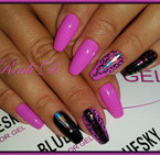 Gel Polish Bluesky 15ML Neon № 21