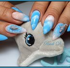Gel Polish Bluesky 15ML BLUE LAGOON